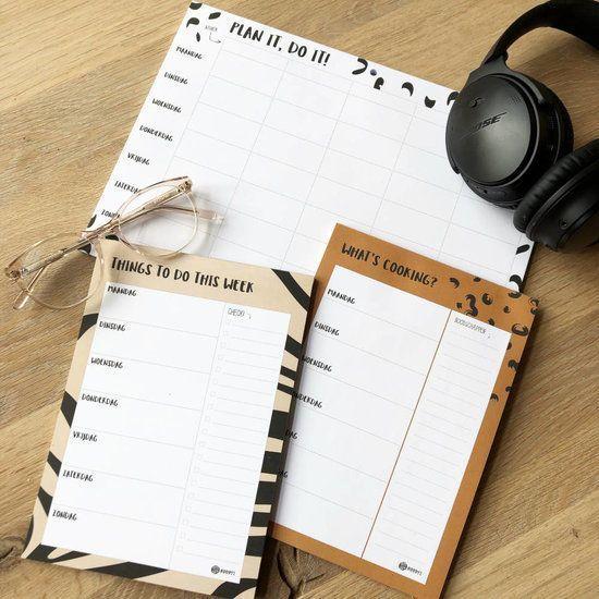 Oh My Goody - Weekplanner 'Things to do this week' A5 - invulboekjes.nl