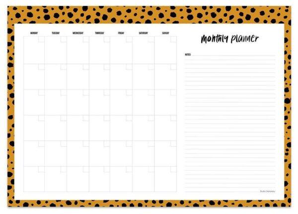 Maandplanners