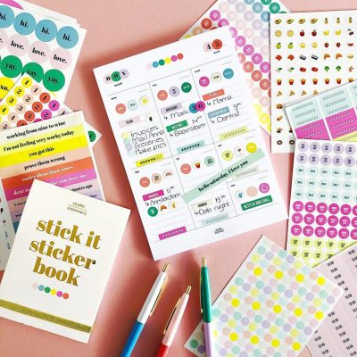Studio Stationery Notitieblok Sticker weekplanner - invulboekjes.nl