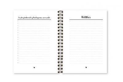 Wachtwoordenboekje Fyllbooks binnenwerk Notities
