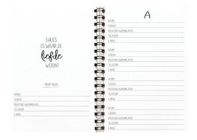 Winkeltjevananne Adresboekje - invulboekjes (2)