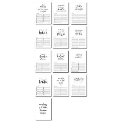Winkeltjevananne Verjaardagskalender - Keet, feest & lach - invulboekjes (2)