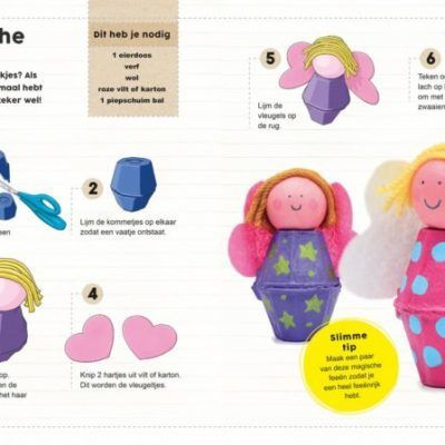 51 dingen om te maken met eierdozen Doeboek