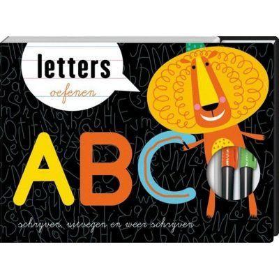 ABC letters oefenen Doeboek