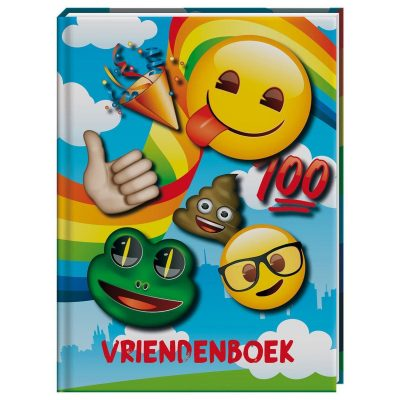 Emoji Rainbow Vriendenboekje Vriendenboekje