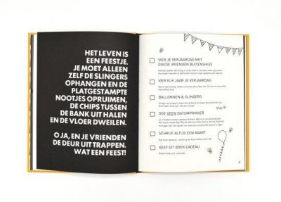 F*ck-it list book voor vrienden Bucketlist boek