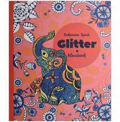 Glitter kleurboek – Bohemian Spirit Glitter kleurboek