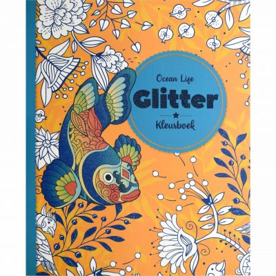Glitter kleurboek – Ocean Life Glitter kleurboek