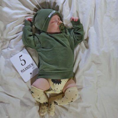Lifestyle2Love Mijlpaalkaarten set Baby Mijlpaalkaarten baby
