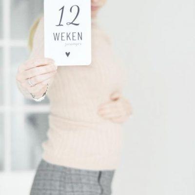 Lifestyle2Love Mijlpaalkaarten set Zwangerschap Mijlpaalkaarten zwangerschap
