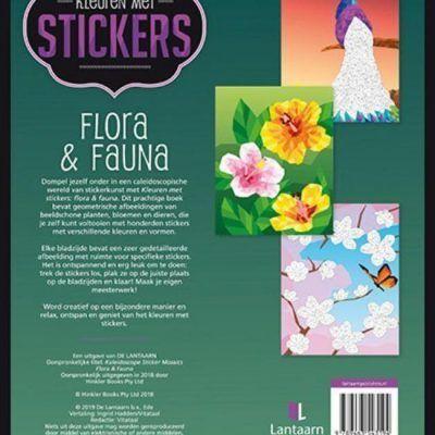 Stickerboek Flora & Fauna Cadeauboeken voor kinderen
