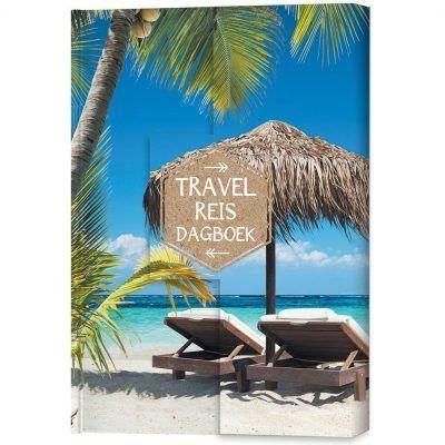 Travel Reisdagboek Palmboom Reisdagboek