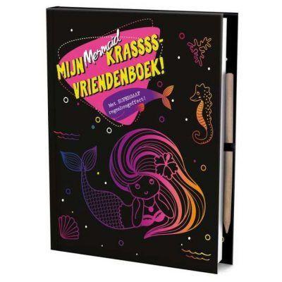 Vriendenboek Krassss mijn mermaid - invulboekjes.nl