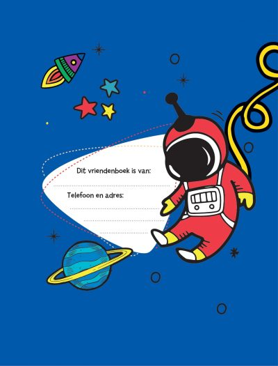 Vriendenboek Krassss mijn space Vriendenboekje