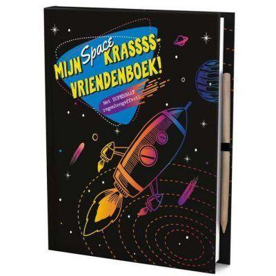 Vriendenboek Krassss mijn space - invulboekjes.nl
