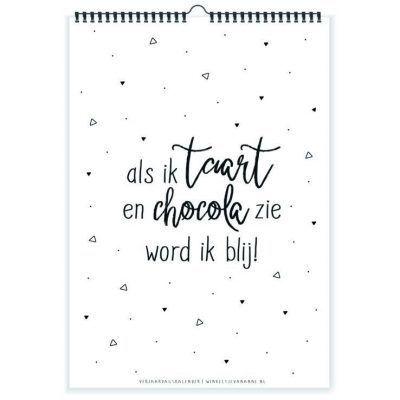 Winkeltjevananne Verjaardagskalender – Taart & chocola Jaarkalender