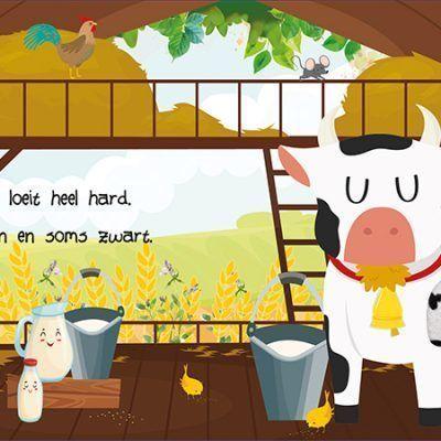 Boerderijdieren Kijk- en voelboek Baby- & Peuterboeken