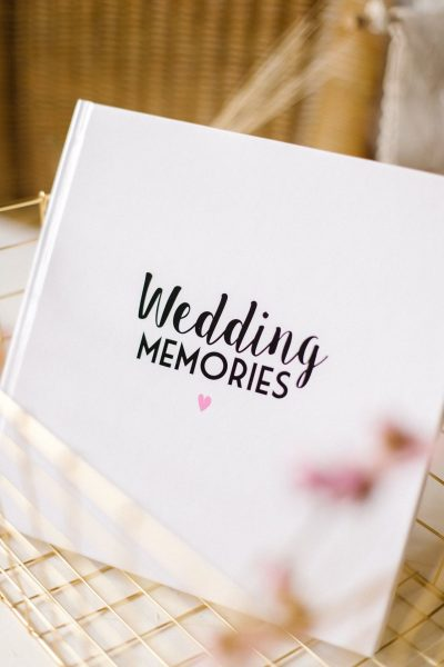 Bonjour to you – Wedding Memories Herinneringsboek