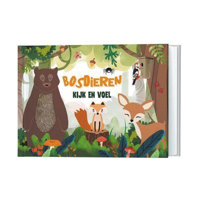 Bosdieren Kijk- en voelboek Baby- & Peuterboeken