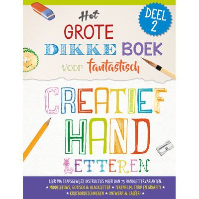 Creatief handletteren deel 2 Doeboek