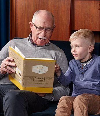 Elma van Vliet – Opa vertel eens Boek vaderdag