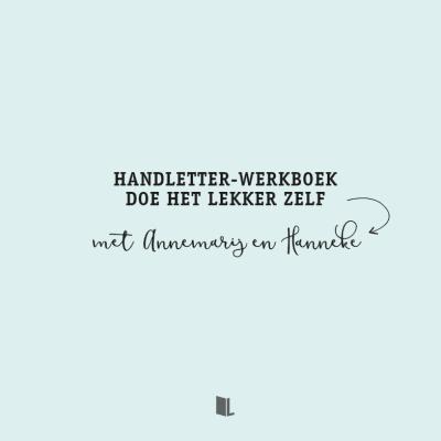 Handletter-werkboek Doe het lekker zelf Doeboek