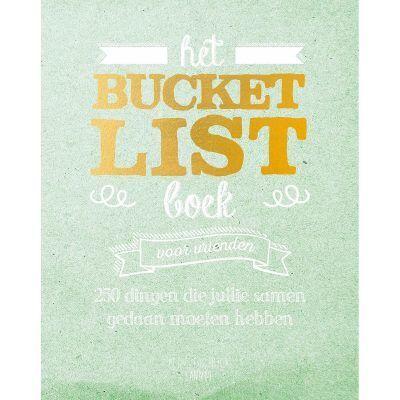 Het bucketlist boek voor vrienden Bucketlist boek
