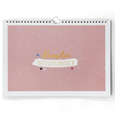 Maan Amsterdam Familieplanner – A4 Familie kalender