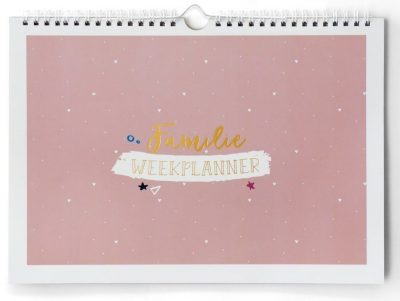 Maan Amsterdam Familieplanner Universe – A4 Familie kalender