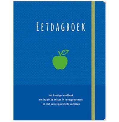 PaperStore Eetdagboek – Blauw Dieetboek