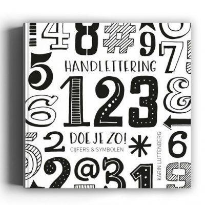 Paperfuel Handlettering 123 doe je zo! Doeboek