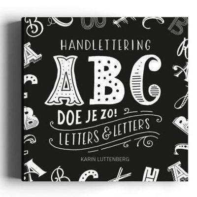 Paperfuel Handlettering ABC doe je zo! Doeboek