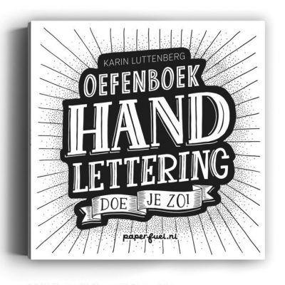 Paperfuel Handlettering doe je zo! Oefenboek Doeboek