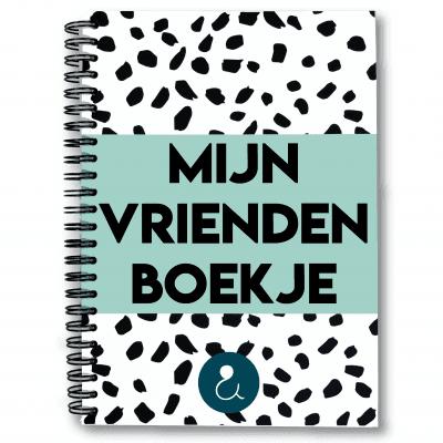 Studio Ins & Outs 'Mijn vriendenboekje' – Mint Vriendenboekje