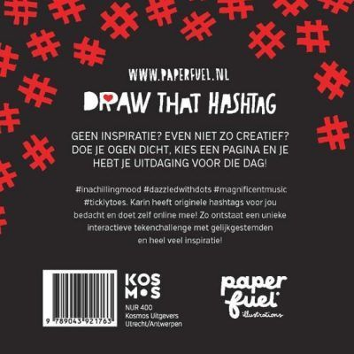 Paperfuel Draw that hashtag Doeboek