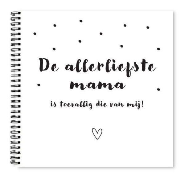 Cover alllerliefste mama boekje