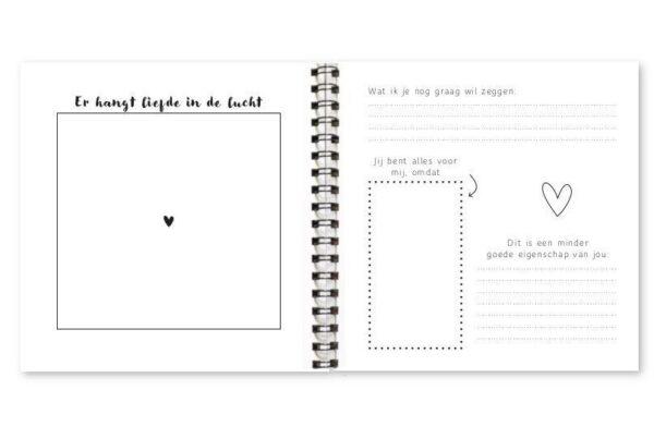 Fyllbooks De allerliefste dat ben jij! invulboekje Cadeauboek voor partner