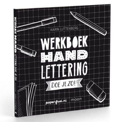 Paperfuel Werkboek Handlettering doe je zo! Doeboek