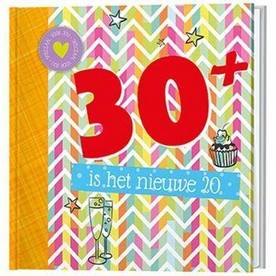 30 is het nieuwe 20 boekje Cadeauboeken