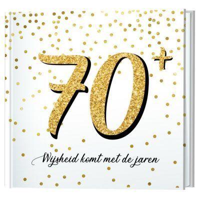 70+, wijsheid komt met de jaren boekje Cadeauboeken