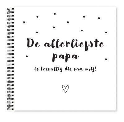 Fyllbooks Allerliefste papa invulboekje Boek vaderdag