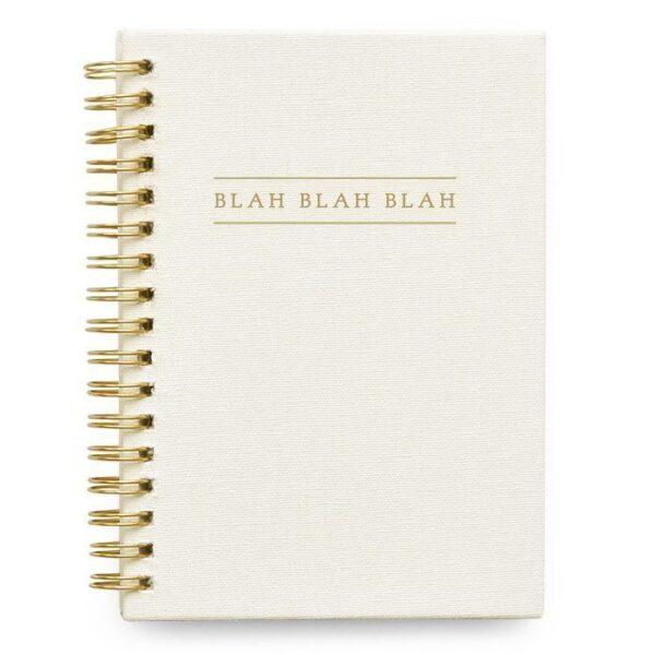 HOP Blah blah blah Kidsquotes – Ivoor – Linnen cover Uitsprakenboekje