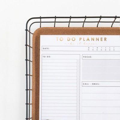 HOP To do planner Collegeblokken