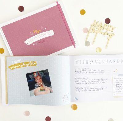 Maan Amsterdam – Mijn verjaardagenboek – Roze Cadeauboeken