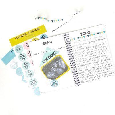 Studio Ins & Outs – Echoboekje – Zwart-wit Echoboekje