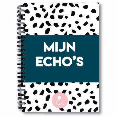 Studio Ins & Outs – Echoboekje – Donkerblauw Echoboekje