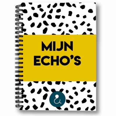Studio Ins & Outs – Echoboekje – Okergeel Echoboekje