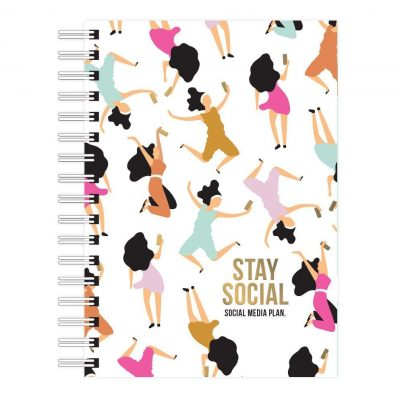 Studio Stationery Social media planner Planners