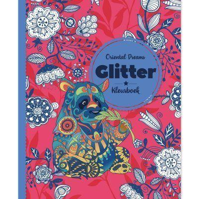 Glitter kleurboek – Oriental Dreams Glitter kleurboek
