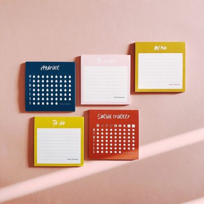 Studio Stationery Mini Social tracker Planners